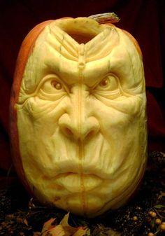 Have we met before? - Ray Villafane pumpkin carving