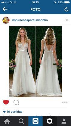 Vestido noiva renda