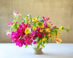 centre de table floral idée déco