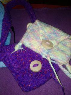 Taschen aus Filzwolle
