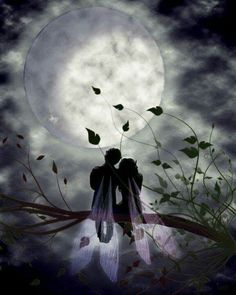 ♥•*¨*• During June, romantic windy last spring nights; by his side and with You…