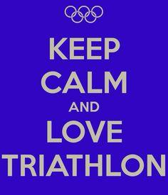 #Triathlon #keep #calm