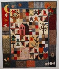 Simple Country Sampler pattern by The Rabbit Factory
