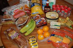 Gretchen's $37 Weekly Grocery Shopping Trip and Menu Plan. < Some good ideas.