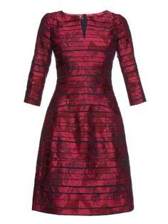 Rose-brocade dress   Oscar De La Renta   MATCHESFASHION.COM UK
