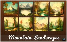 Sims 4 CC's - The Best: Mountain Landscapes by SimsRebelCreators