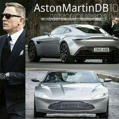 Aston Martin DB10 new James Bond toy. This machine will be Daniel Craig's new car in Agent 007 Spectre. 4.7 Litre V8 with 426 HP at 7300RPM. Aston Martin DB10 el nuevo juguete de James Bond. Esta máquina va a ser el nuevo auto de Daniel Craig en la pelícu