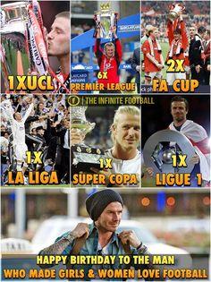 """Happy Birthday to The Most Stylish Footballer David Beckham  — with Jagdeep Sandhu, Jagdeep Sandhu, Lam Produce, Valentine Oduenyi and Niran Das. """