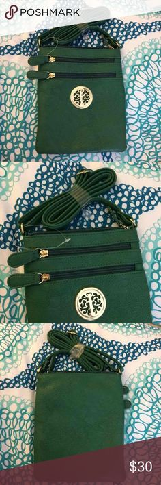 Green and Gold Purse Brand new! Bags Crossbody Bags