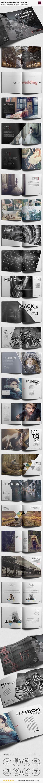 Square Brochure Portfolio