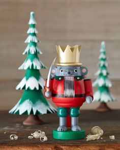 Mouse King Nutcracker by GLAESSER