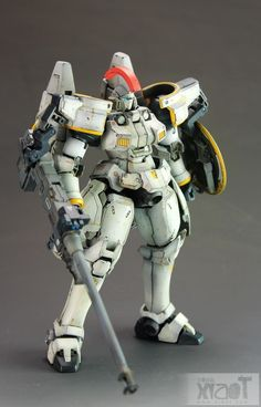 not one of my favorites, but awesome nevertheless! GUNDAM GUY: MG 1/100 Tallgeese EW - Customized Build