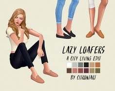 My Sims 4 Blog: Lazy Loafers Edit by CitronTart