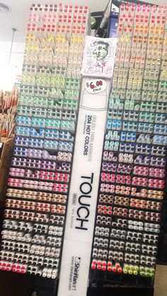 They're here!!!! The touch twin brush markers by ShinHan.