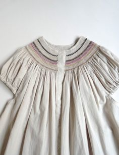 Chantilly blouse -- love the embroidery around the neckline.