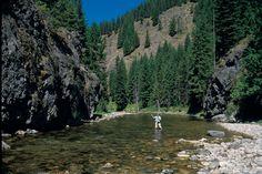 Fly Fishing Idaho Rivers | Fly Fishing Idaho Kelly Creek- Fly Fisherman