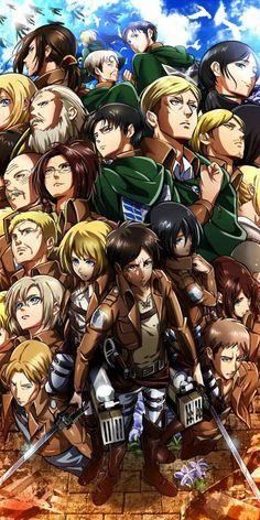 Attack on Titan wallpaper by DubbedAnimeGuy - 2f - Free on ZEDGE™