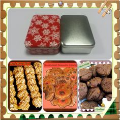 Gluten-Free Holiday Tin Collection Order online at www.kellysgourmetdoggie.com Gourmet Dog Treats, Doggie Treats, Treat Yourself, Yummy Treats, Tin, Holiday, Christmas, Bakery, Gluten Free