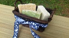 Remember Father's Day is June 21st.Gift for him, Handmade soaps in a basket by LushSoapofGa