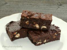 Konyhavirtuóz: Édesburgonyás brownie (paleo)