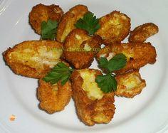 Funghi coprini impanati | Cucina per Gioco