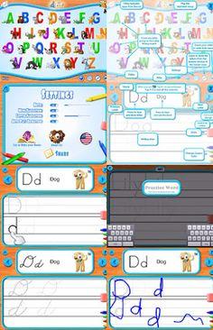 Digital Kindergarten: Teaching Tools: Handwriting Apps