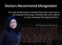Doctors recommend mangosteen