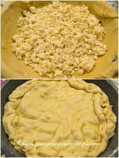 Φύλλο γιαουρτιού για πίτες (με άλλο τρόπο ανοίγματος) - cretangastronomy.gr