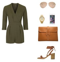 """""""Chic."""" by roci28 ❤ liked on Polyvore featuring Topshop, Michael Kors, Hermès and Victoria Beckham"""