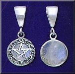 God, Goddess and Lunar Pentacle and Pentagram Jewelry