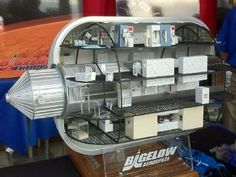 Bigelow Aerospace Inflatable space station module concept