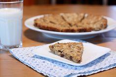 granola cookie wedge