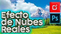 Efecto de NUBES REALES EN PHOTOSHOP | fotomontaje de nubes en photosho...
