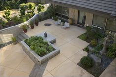 modern outdoor planters los angeles