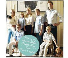 La felicitación familiar de Marie-Chantal de Grecia #realeza #royals #royalty