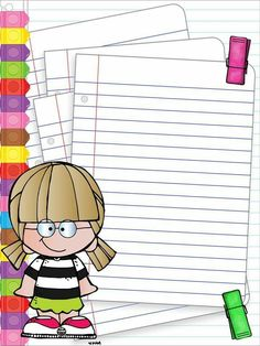 Borders For Paper, Borders And Frames, Notebook Labels, Teacher Binder Covers, Boarder Designs, Go Math, School Frame, School Clipart, Cute Frames