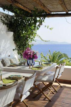 Patios y terrazas mediterráneos 8