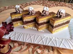 Yummy recipes: Walnut slices with walnut liqueur Vanilla Cake, Tiramisu, Waffles, Diy And Crafts, Yummy Food, Yummy Recipes, Treats, Breakfast, Ethnic Recipes