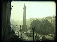 Ireland Dublin 60 years ago. A 16mm amateur film of the capital many years ago, still showing Nelson memorial monument