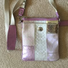 """Coach Crossbody Bag Authentic Coach Crossbody bag. Adjustable strap. Measures 8.5 X 7.5"""". Gently used. Coach Bags Crossbody Bags"""