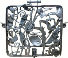'Flight plan' by South African artist Robert Slingsby Forged steel. via the artist's site South African Artists, Forged Steel, Love Craft, Art Boards, Sculpting, Inspire, Inspirational, Cabinet