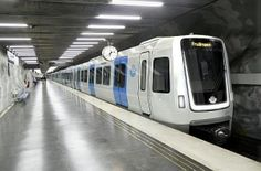 First look at new #Stockholm #metro train #Bombardier #railway #rollingstock