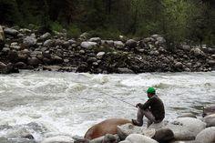 The beautiful planet blog: Fishing in the Indian Himalayas - Manali