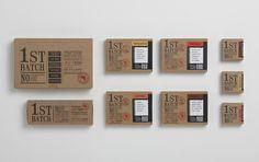 DV Artisan Chocolate First Batch — The Dieline - Branding & Packaging