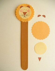 Детское творчество. Фигурки из палочек от мороженого