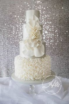 Hayley Elizabeth cake design specialises in bespoke wedding cakes, dessert tables, wedding sweet table & wedding cupcakes in and around Hampshire Luxury Wedding Cake, Floral Wedding Cakes, White Wedding Cakes, Elegant Wedding Cakes, Wedding Cake Designs, Wedding Cupcakes, Wedding Cake Toppers, Large Wedding Cakes, Floral Cake