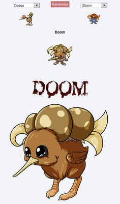 28 Of The Funniest Pokemon Fusions | WeKnowMemes