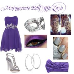 masquerade ball with zayn, outfits - image #643671 on Favim.com