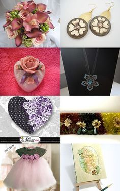 Bouquet by MARIA JOSE SORIANO SAEZ on Etsy--Pinned with TreasuryPin.com