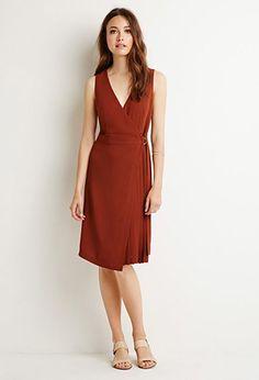 Belted Wrap Dress | Forever 21 | #triedandtrue